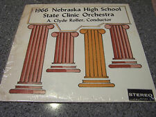 1966 Nebraska High School State Clinic Orch. LP A. CLYDE ROLLER, CON. SEALED