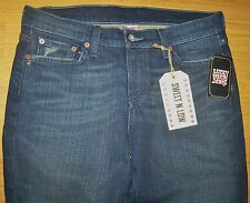 NWT LUCKY BRAND SHEEVA SWEET N LOW STRETCH JEANS SIZE 28 ACT MEASURE (33x33) NEW