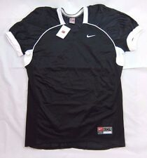 New Men's Nike Team Black Football Lacrosse Training Practice Jersey 3XL NWT $60