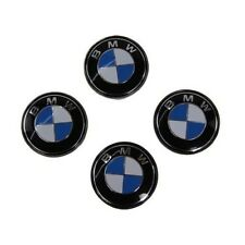 4Pcs Fits BMW  Wheel Centre Caps Hub Badges Emblem 68mm E34 E36 E39 E46 E60 X5