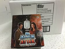 Topps Doctor Who Alien Attax Trading Card Game Booster Box Factory Case (12)