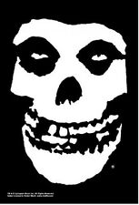 MISFITS Fiend Skull Danzig Cloth Fabric Poster Flag Textile Tapestry Banner-NEW!