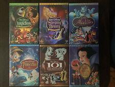 Pick 4 out of 6 Disney DVDs Aladdin, 101 Dalmatians, Snow White etc.