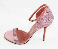 AUTH $1100 Gucci Women Pick Sparkle Crystal Heel 38