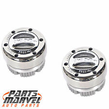 Mile Marker 104 Replacement Stainless Steel Lock Out Hubs: Pair Dana 44