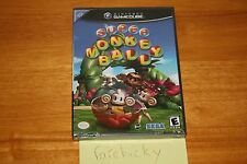 Super Monkey Ball (Gamecube) NEW SEALED BLACK LABEL, NEAR-MINT, RARE!