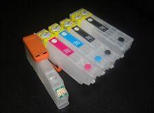 5 cartouches d'encre rechargeable 26 XL pour Epson xp-605 xp-615 xp-625 XP-810 xp-825
