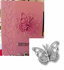 Memory Box Dies VIVIENNE BUTTERFLY Die 98265 Detail Insect Animal All Occasion