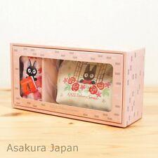 Kiki's Delivery Service mini Towel & Pouch (White, Rose) in gift box Jiji case