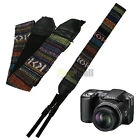 Neck Shoulder Strap For Camera Canon DSLR SLR Nikon Olympus Panasonic Sony