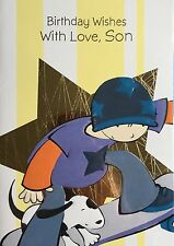 SON Birthday Card - Birthday Wishes With Love, Son