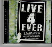 (FH536) Live 4 Ever, 40 tracks various artists - 2CDs - 1998 CD