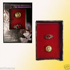 Black Butler Kuroshitsuji Ciel Phantomhive & Alois Cosplay rings 2pcs New in Box