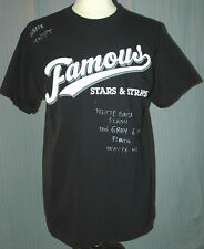 Famous Stars and Straps Adult Large Black Prototype T-Shirt (L Skate Skateboard