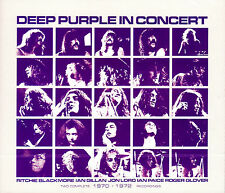 DEEP PURPLE in concert 1970 / 1972 2CD NEU