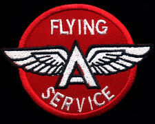 Flying A Patch Automotive Sales Service Gasoline Motor Oil Hot Rod Drag Race