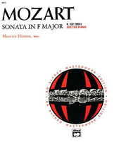 MOZART/SONATA IN F MAJOR K 332, Piano Solo, ALFRED - 8005