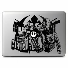Star Wars R2 AND C-3PO for Apple Macbook Air/Pro Laptop Vinyl Decal Sticker Skin