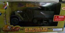 Ultimate Soldier halftrack with multiple gun carriage XD 1/18  sealed