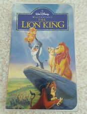 Walt Disney The Lion King VHS 1995 Masterpiece Collection 2977
