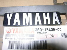 YAMAHA RD 250 350 '73-75 CRANKCASE R EMBLEM NOS DECAL BADGE 360-15435-00 RD200DX