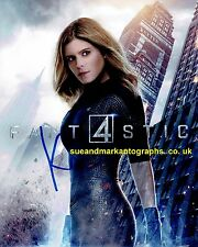 Kate Mara Sue Storm Invisible Woman Fantastic Four B  Autograph UACC RD 96