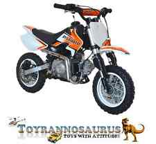50cc,  4 Stroke,  Kids Petrol Dirt, Pit Bike With Electronic Start & Disc Brakes