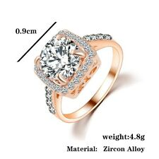 Gemma Solitaire Ring  Crystals bridal High Quality Gift Beautiful