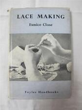 """VINTAGE 1950's """"LACE MAKING"""" by EUNICE CLOSE - INSTRUCTION BOOK"""