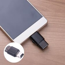 USB 2.0 + Micro USB OTG SD T-Flash Memory Card Reader Adapter for Cell Phone PC