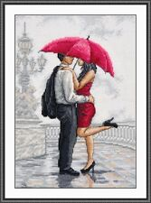 "Counted Cross Stitch Kit OVEN - ""In the Arms of Rain"""