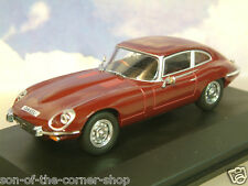 OXFORD 1/43 1971-1975 JAGUAR V12 E-TYPE SERIES 3 COUPE REGENCY RED JAGV12003