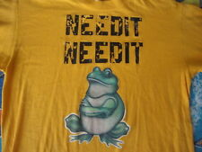 Vintage 70's FROG iron on punk rock needit drugs just say no T Shirt S