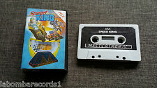 ZZ- VIDEOJUEGO MSX SPEED KING - MASTERTRONIC - RARE