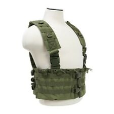 AR Chest Rig Tactical 12 Magazine Field Operators Vest 223 556 762 ODG.