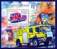 Sapeurs-Pompiers,superbe bloc du Togo de 2013,neuf,3