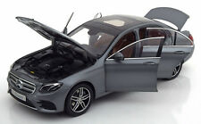Iscale 2016 Mercedes Benz E Klasse W213 AMG Matt Grey Dealer Ed 1/18 New Release