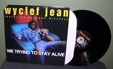 "Wyclef Jean ""We Trying To Stay Alive"" 12"" Orig US NM The Fugees Lauren Hill"
