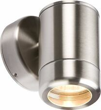 Knightsbridge WALL1L Modern Outdoor Garden Wall Lantern GU10 Spot Light IP65