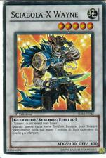 * CARTA YU GI OH - SCIABOLA-X WAYNE - 5DS3-IT042 - RARA - FOIL - IN IT - 1ed