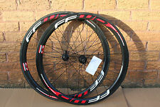 Fast Forward F4R DT240 Front & Rear Tubular Carbon 700C 45mm Wheelset - Ex-Team