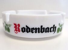 Rodenbach Beer Ashtray Alexander, Grand Cru - 1970's White Glass