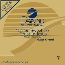 Amy Grant - Tis So Sweet To trust In Jesus - Accompaniment CD New
