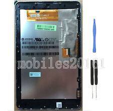 Asus Google Nexus 7 1st Gen Wifi  LCD Digitizer Touch Screen Display + Frame