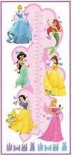 DISNEY PRINCESS GROWTH CHART PINK KID ROOM WALL DECOR WALL DECAL STICKER 40512