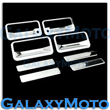 88-98 Chevy C+K 1500+2500+3500 Triple Chrome Plated 4 Door Handle+W/PSG KH Cover