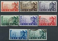 1941 LIBIA USATO FRATELLANZA D'ARMI CON POSTA AEREA - ED573