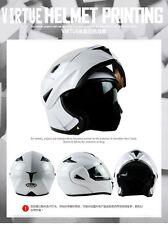 2016 HOT  DOT Dual Visor Flip Up Motorcycle Helmet Motocross Full Face 7 Colors