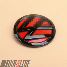Gloss Black&Red Trim Rear Boot Badge Logo Emblem For VW Golf 6 MK VI 5K0853630