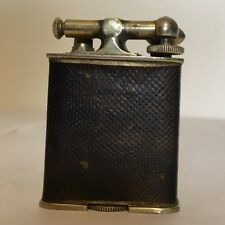 Vintage 18KT GOLD ELECTRO PLATE CLARK LIGHTER in Working Condition